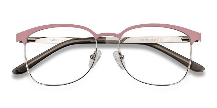 Pink/Silver Dancer -  Fashion Metal Eyeglasses
