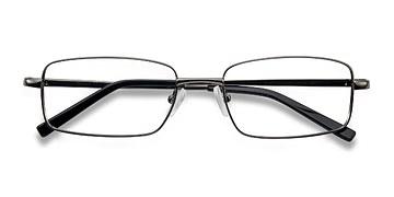 Gunmetal Oakland -  Metal Eyeglasses