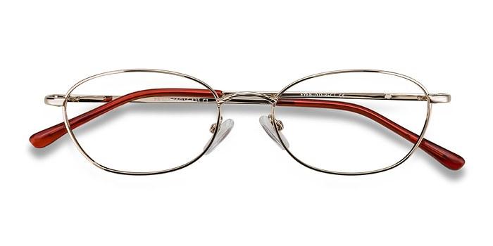 Silver Prima -  Classic Metal Eyeglasses