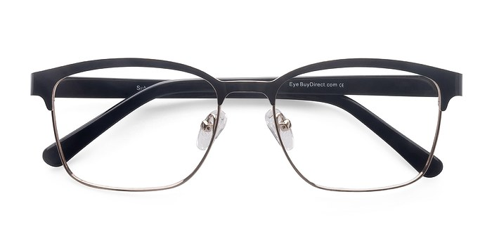 Black Golden  Sublime -  Metal Eyeglasses