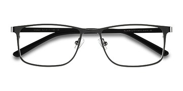 Dark Gunmetal  Clinton -  Classic Metal Eyeglasses