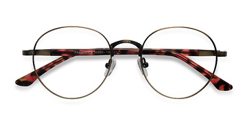 Bronze Fitzgerald -  Fashion Metal Eyeglasses