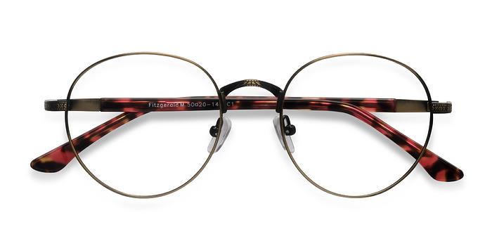Bronze Fitzgerald -  Fashion Metal Eyeglasses