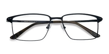 Navy Absolute -  Metal Eyeglasses