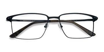 Navy Absolute -  Metal Eyeglasses