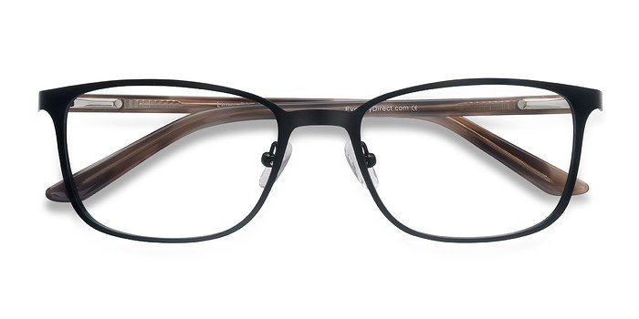 Black Lines -  Metal Eyeglasses