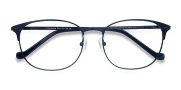 Navy Phenomena -  Colorful Metal Eyeglasses
