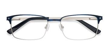 Navy Normandy -  Fashion Metal Eyeglasses