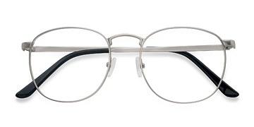 Matte silver St Michel -  Geek Metal Eyeglasses