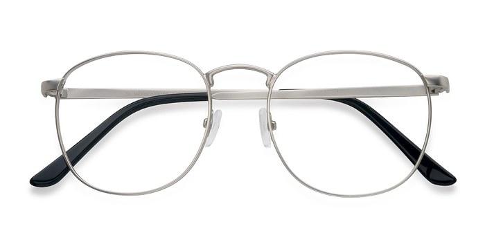 Matte silver St Michel -  Metal Eyeglasses