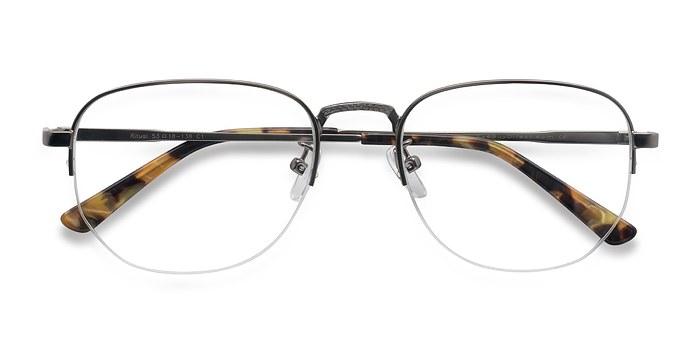 Gunmetal Ritual -  Metal Eyeglasses