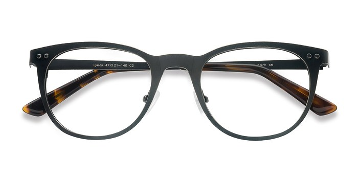 Black Lyrics -  Metal Eyeglasses