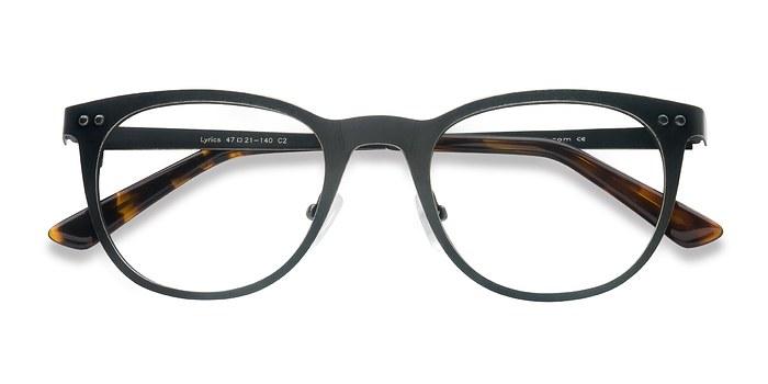Black Lyrics -  Metal Eyeglasses