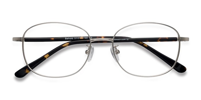 Silver Behold -  Classic Metal Eyeglasses