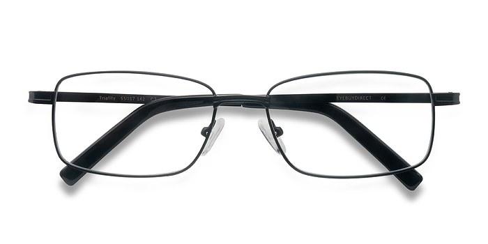 Black Triality -  Metal Eyeglasses