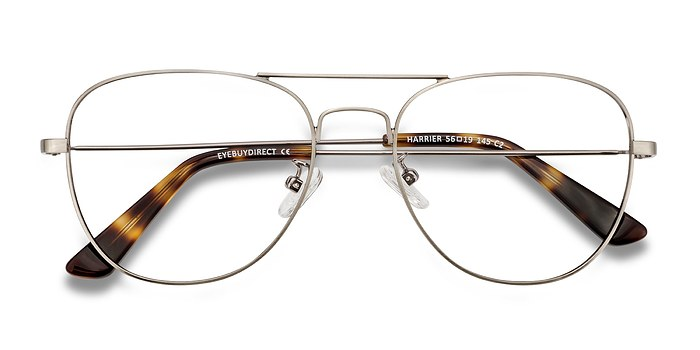 Gunmetal Harrier -  Metal Eyeglasses
