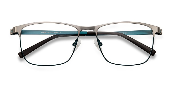 Gunmetal Pinion -  Metal Eyeglasses