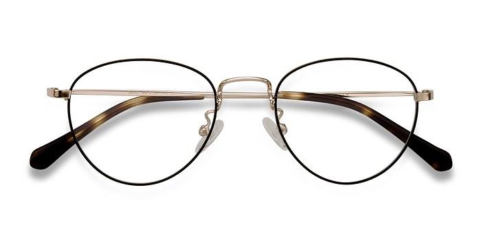 Black Taipei -  Metal Eyeglasses