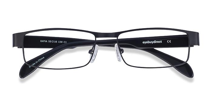 Black Katia -  Metal Eyeglasses