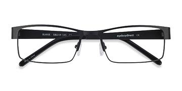 Black Blaise -  Classic Metal Eyeglasses
