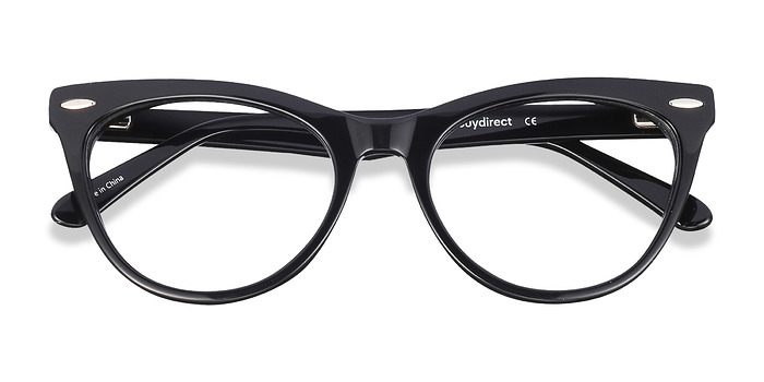 Black Anika -  Fashion Acetate Eyeglasses