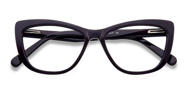 Charlotte prescription eyeglasses (Purple)