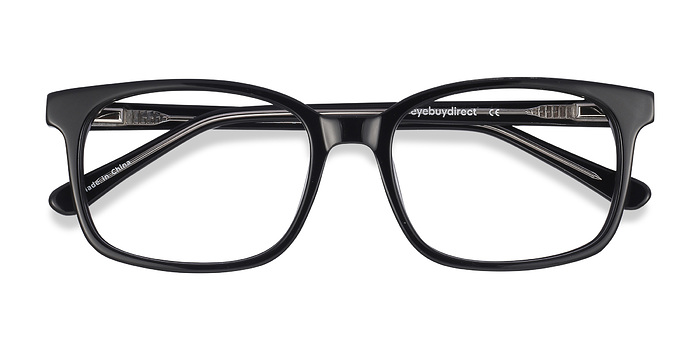 Black Claudia -  Classic Acetate Eyeglasses