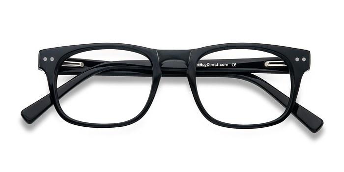 Black Carla -  Acetate Eyeglasses