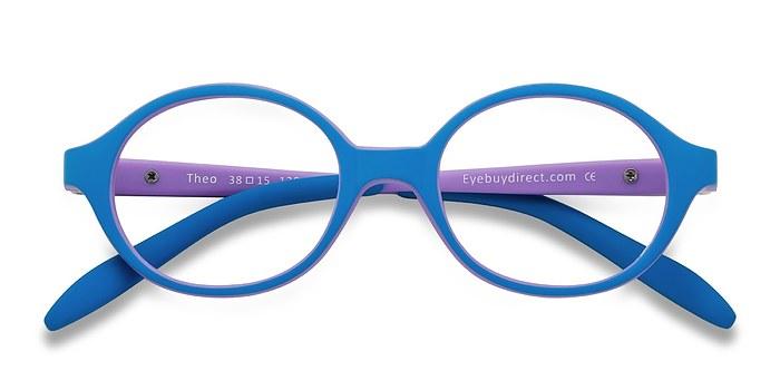 Bleu/Violet Theo -  Légères Plastique Lunettes de Vue