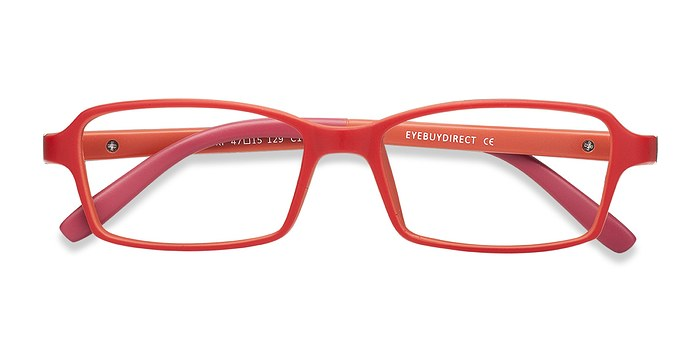 Red Ricki -  Lightweight Plastic Eyeglasses