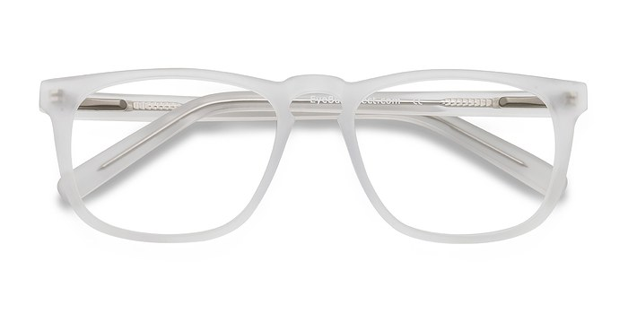 Matte Clear Rhode Island -  Fashion Acetate Eyeglasses