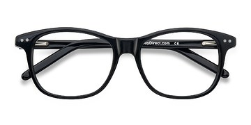Black Almost Famous -  Classic Acetate Eyeglasses