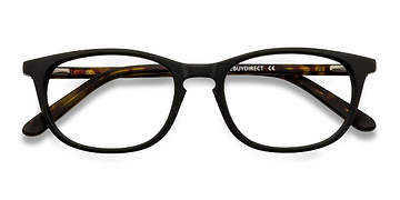 Matte Black Valentin -  Fashion Acetate Eyeglasses