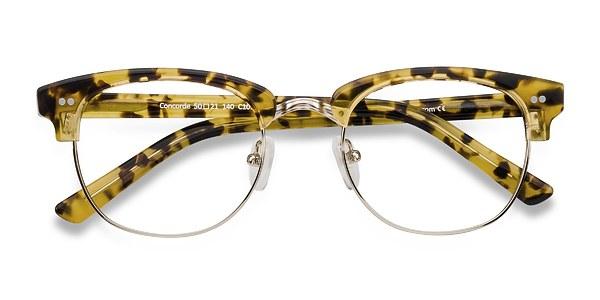 Concorde prescription eyeglasses (Tortoise)