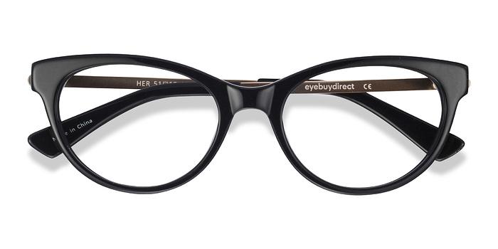 Black Her -  Fashion Acetate Eyeglasses