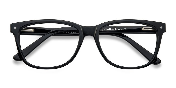 Black Allure -  Classic Acetate Eyeglasses