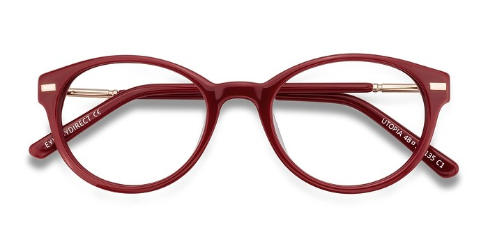 Red Utopia -  Fashion Acetate Eyeglasses