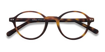 Matte Tortoise Mellow -  Fashion Acetate Eyeglasses