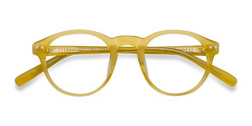 Yellow Perception -  Designer Acetate Eyeglasses