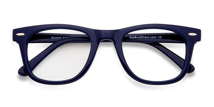 Navy Blizzard -  Geek Acetate Eyeglasses