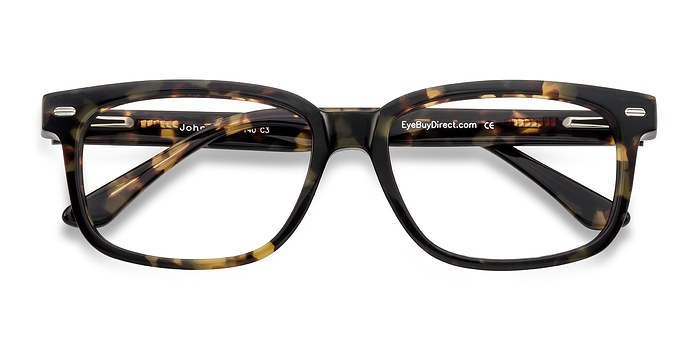 Tortoise John -  Fashion Acetate Eyeglasses
