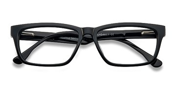 Black Seattle -  Classic Acetate Eyeglasses