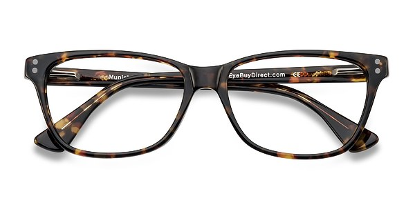 Munich prescription eyeglasses (Tortoise)