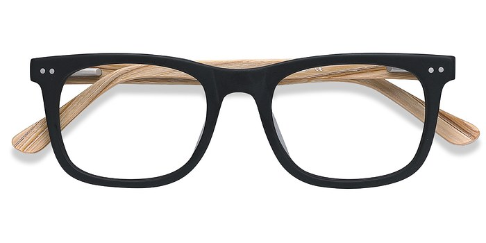 Matte Black Montreal -  Fashion Acetate Eyeglasses