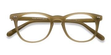 Taupe Flume -  Classic Acetate Eyeglasses