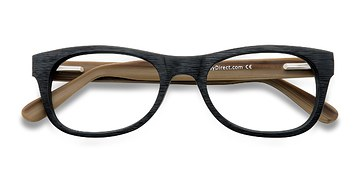 Black Little Panama -  Classic Acetate Eyeglasses