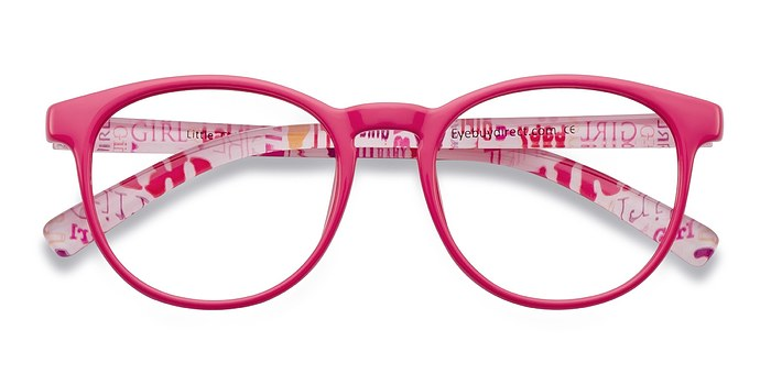 Pink Little Chilling -  Classic Plastic Eyeglasses