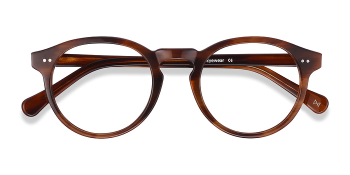 Cognac Theory -  Geek Acetate Eyeglasses