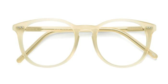 Frosted Vanilla Aura -  Designer Acetate Eyeglasses