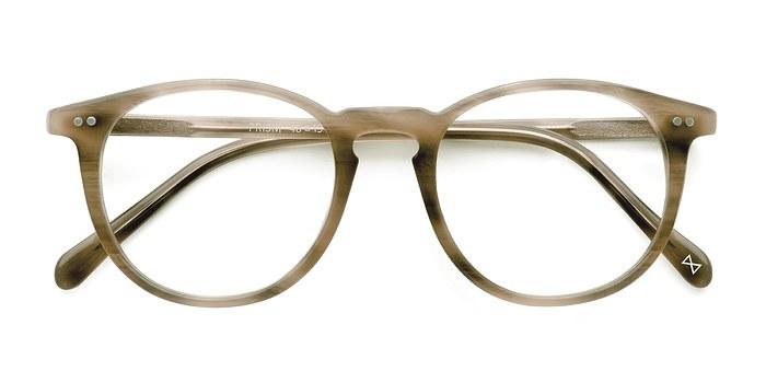 Chestnut Prism -  Designer Acetate Eyeglasses